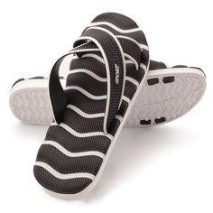 on sale 79452 f32d6 51.3 42% de DESCUENTO OPP 2017 verano hombres de cuero genuino chanclas  Sandalias planas Zapatos para hombres sandalias de playa zapatos de cuero  Natural ...