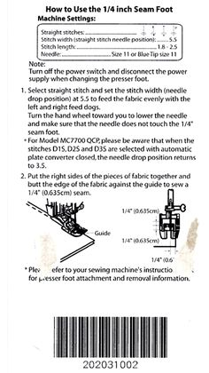 Let's share: Janome 6300, 6500, 6600 and like models sewing discussion topic page 78 @ PatternReview.com