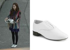 "Han Ye-Seul 한예슬 in ""Birth of a Beauty"" Episode 5.  Repetto Zizi Lace-Up Oxfords #Kdrama #BirthOfABeauty 미녀의 탄생 #HanYeSeul"