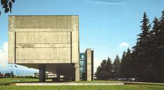 FATA headquarters | 1975 | Turin, Italy | Oscar Niemeyer.