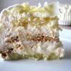 Receita de Bolo estupendo - Massa do pão de ló, 6 unidades de ovo, 6 colheres de sopa de açúcar, 6 colheres de sopa de farinha de trigo, 1/2 copo de Água, 1...