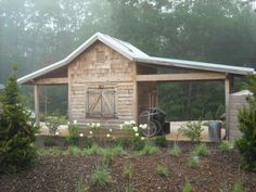 garden shed | ... : Be Green with Ease: The Gardeners Green Shed Shows You How