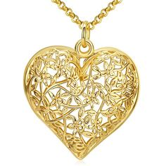 SHARE & Get it FREE | Filigree Floral Heart NecklaceFor Fashion Lovers only:80,000+ Items • New Arrivals Daily • Affordable Casual to Chic for Every Occasion Join Sammydress: Get YOUR $50 NOW!