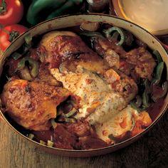 Chicken chicken paprika