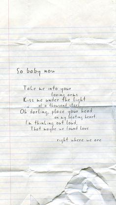 Ed Sheeran - Thinking Out Loud.