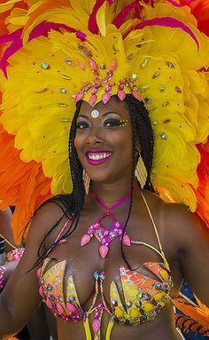 Carnival Beauty, Port of Spain, Trinidad.