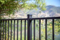 Metal Works Excalibur Steel Railing Line Steel Railing, Outdoor Living, Outdoor Decor, Garden Bridge, Diys, Outdoor Structures, Metal, Outdoor Life, Bricolage