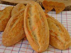 Küçük Somun Ekmek Nut Bread Recipe, Bread Recipes, Recipe Steps, Ham, Food And Drink, Sunscreen, Recipe, Kitchens, Bread