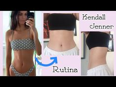 Kendall Jenner Ab Workout, Kendall Jenner Diet, Kendall Jenner Bikini, Kedall Jenner, Fitness Goals, Yoga Fitness, Full Body Gym Workout, Model Diet, At Home Workouts