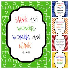 Classroom Freebies Too: Dr. Seuss Quotes