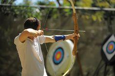 Archery at Le Canonnier, Mauritius