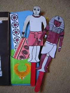Egypt Lapbook Links, Ideas, and Books