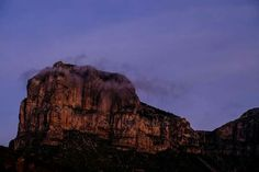 Clouds and El Cap make for a good combination, don't you think? - El Capitan in Guadalupe Mountains National Park ~ Derrick Birdsall