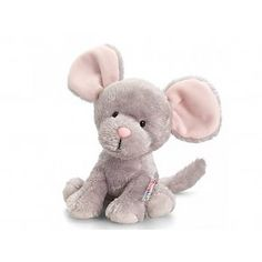 Buy Keel Pippins Squeaks the Mouse Soft Toy online. PDK has been supplying fundraising accessories, toys and games for over 30 years. Baby Elephant Toy, Elephant Stuffed Animal, Grey Elephant, Hugs And Cuddles, Asian Elephant, Plush Animals, New Baby Products, Teddy Bear, Toys