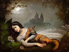 'dreaming in the woods'  Christian  Schloe