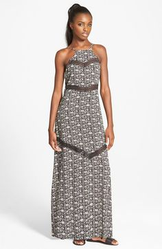 Eline+High+Neck+Maxi+Dress+available+at+#Nordstrom