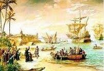 Invasões Francesas - Partida de Estácio de Sá (Benedito Calixto)