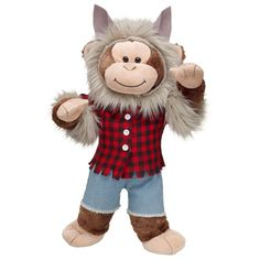 Werewolf Cheerful Monkey - Build-A-Bear Workshop US $31.50
