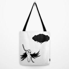 Halloween's angel Tote Bag by Bica Studio | Society6