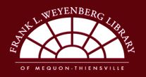 Frank L. Weyenberg Library of Mequon-Thiensville Library Logo, Wisconsin, Public, Website, Logos, Home, Memories, Logo