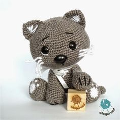 Crochet kitty - so cute