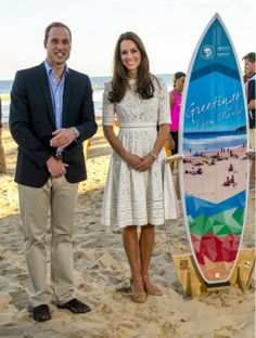 "RT @ArthurJEdwards ""William & Kate collect another gift for baby George, a surf board at Manly"" #RoyalVisitAus"
