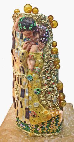 Cake Art ~ Inspired by The Kiss ~ Klimt