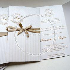 Convite Modelo 16D - Casamentos e Travessuras