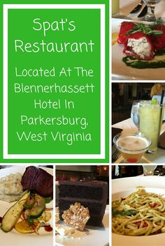 Spats Restaurant is a delicious offering for onsite dining at the beautiful Blennerhassett Hotel in Parkersburg, WV.