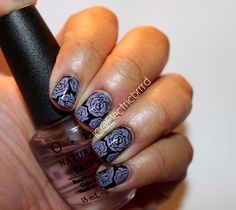 Haven't posted any nails lately! Here's a fun #manicure I did! Check them out! #nails #mani #naikdesign Instagram.com/electricbrrrd
