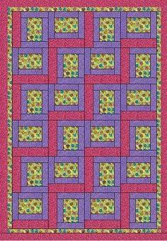 Heirloom Elegance Designs - Pathways - A 3 Yard Quilt $6.50