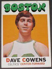 1971 Topps Dave Cowens Basketball Card Collectible MINT Boston Celtics