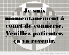 Pin by Marjolaine Fortier on lol! French Words, French Quotes, 365 Jar, Words Quotes, Life Quotes, Canvas Art Quotes, Quote Citation, Lol, Cool Words