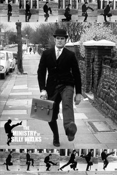fANTASTIC MONTY PYTHON - the ministry of silly walks