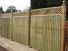 Premium Fencing Supplies at discount prices in Blackpool. Strong Timber Fence panels made to order and delivered free. Fence Design, Garden Design, Fence Panels Uk, Close Board Fencing, Good Neighbor Fence, Fencing Supplies, Privacy Fences, Uk Images, Dog Fence