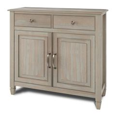 Brooklyn + Max Somerset Distressed 40 in. Grey Wide Transitional Entryway Storage Cabinet with Solid Wood - The Home Depot Brooklyn + Max Somerset Distressed Grey 40 in. Wide Transitional Entryway Storage Cabinet with Soli Entryway Storage Cabinet, Storage Cabinets, Cabinet Doors, Accent Chests And Cabinets, Raised Panel Doors, Grey Furniture, Furniture Ideas, Adjustable Shelving, Credenza