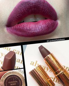 The Lipstick Database: Charlotte Tilbury Matte Revolution Lipstick in Glastonberry - @lipstickdatabase on Instagram