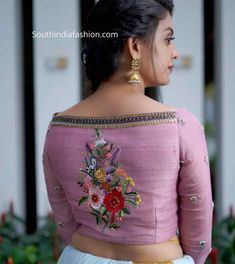 Onam Saree Blouse Collection By Label& Onam Saree Blouse Collect . - Label& by Onam Saree Blouse Collection Onam Saree Blouse Collect … # blouse - Saree Blouse Neck Designs, Fancy Blouse Designs, Bridal Blouse Designs, Pattern Blouses For Sarees, Saree Blouse Patterns, Saris, Kerala, Sari Bluse, Lehenga Blouse