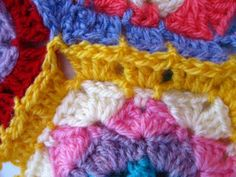 Bunny Mummy: Crochet Hexagon Tutorial ...Part 2