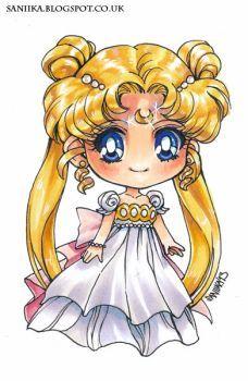 Princess Serenity by saniika