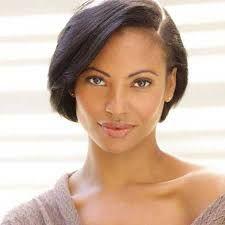 asymmetrical hairstyles for black women - Google Search