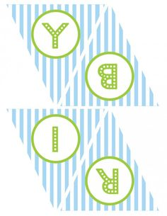 free printables boy birthday happy birthday banner blue green 2