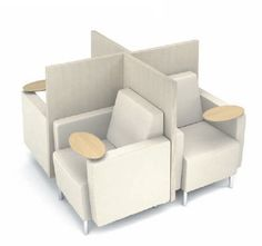 Gee Lounge Chairs by Agati