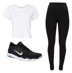 """""""Gains bro"""" by ashleejosias23 on Polyvore featuring RE/DONE and NIKE"""