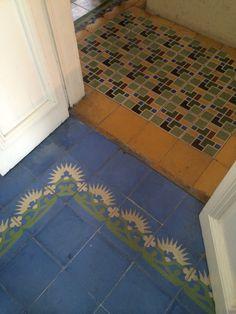 Puerto Rico historic floor tile