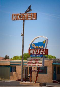 Pioneer Motel (Route 66) Albuquerque, NM