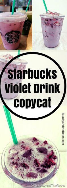 Starbucks Violet Drink copycat