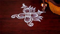 rangoli side designs muggulu side borders daily rangoli designs without dots friday kolam designs Rangoli Side Designs, Rangoli Borders, Colorful Rangoli Designs, Kolam Rangoli, Beautiful Rangoli Designs, Mehndi Designs, Easy Rangoli, Diwali Decorations, Flower Decorations