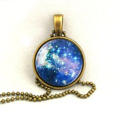 (1) lovemissy13's save of 10% SALE Necklace Galaxy Jewelry Universe Space Pendant Necklaces,Constellation,Gift For Her on Wanelo