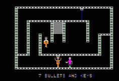 WEBSTA @favoritevideogamessince71 Castle Wolfenstein (1981 Apple II). Gameplay: https://youtu.be/8fgok9eHqO8